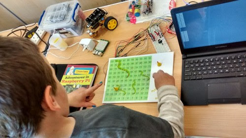Snakes and Ladders, Pi style | Raspberry Pi