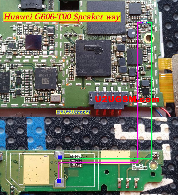 Huawei Ascend G606-T00 Ringer Solution Jumper Problem Ways