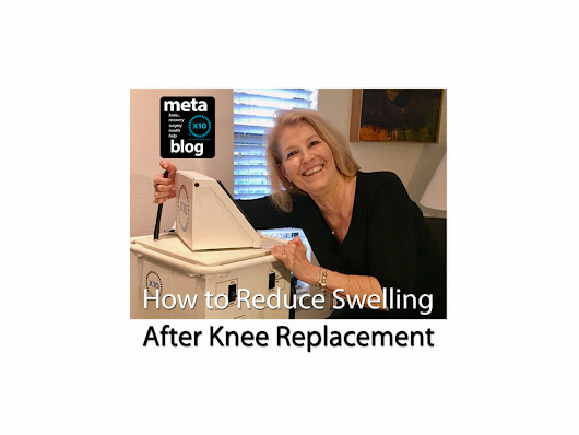 How to Reduce Swelling After Knee Replacement