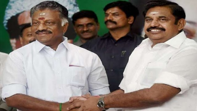 तमिलनाडु विधानसभा चुनाव में पलानीस्वामी AIADMK के सीएम कैंडिडेट होंगे, पन्नीरसेल्वम ने किया ऐलान