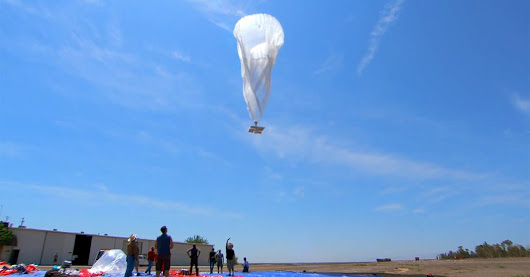 Google Launches Balloons to Bring the Internet to Remote Regions