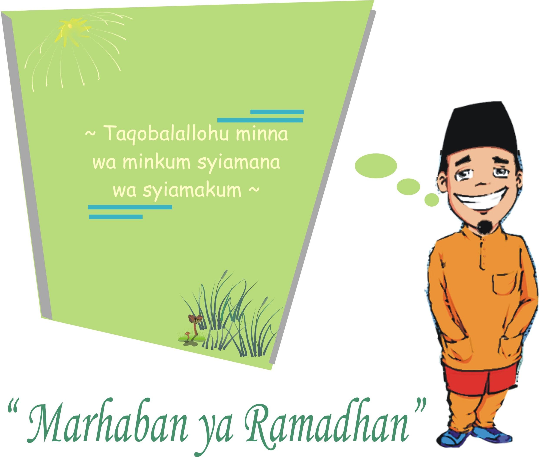 Kartun Ucapan Ramadhan Ramadhan Halal