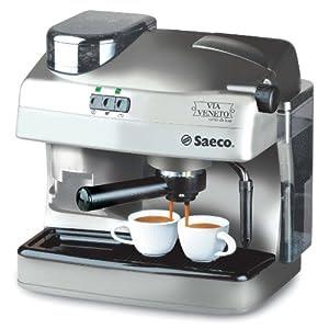 Saeco Via Veneto Combi de Luxe macchina da caffè espresso argento