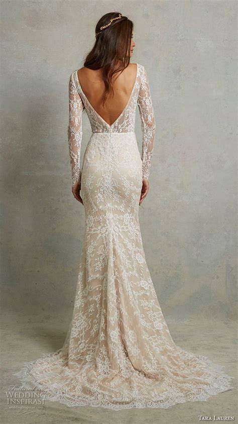 Tara Lauren Spring 2018 Wedding Dresses   Wedding Inspirasi