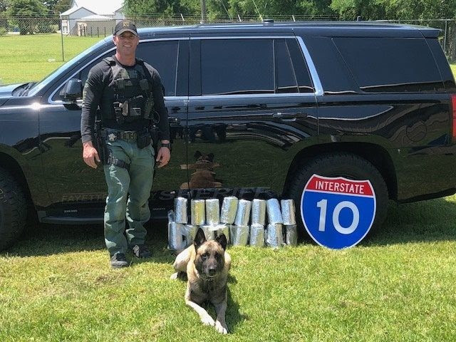 Sgt Thumann and Lobos with $3 million in meth