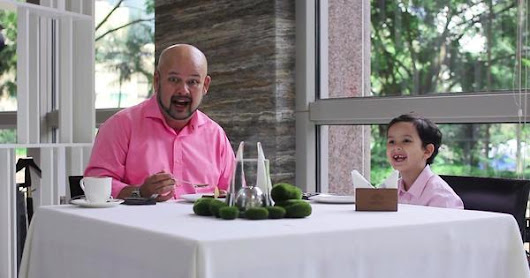 Watch Harith Iskandar, His Adorable Son, And 12 Other Celebs Go Food Hunting In Malaysia