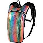 Alta Lightweight 2 Liter Water Bladder Active Running and Hiking Backpack, Rainbow