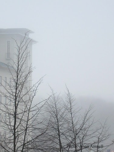 Sumu. Fog in Helsinki by Anna Amnell