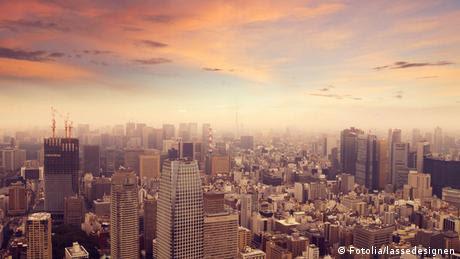 Tokyo Skyline Photo: lassedesignen