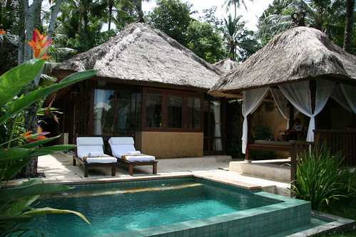 Valley pool villa at Komeneka Resort Bali