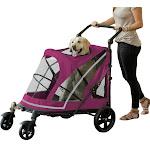 Pet Gear Expedition No Zip Stroller Boysenberry