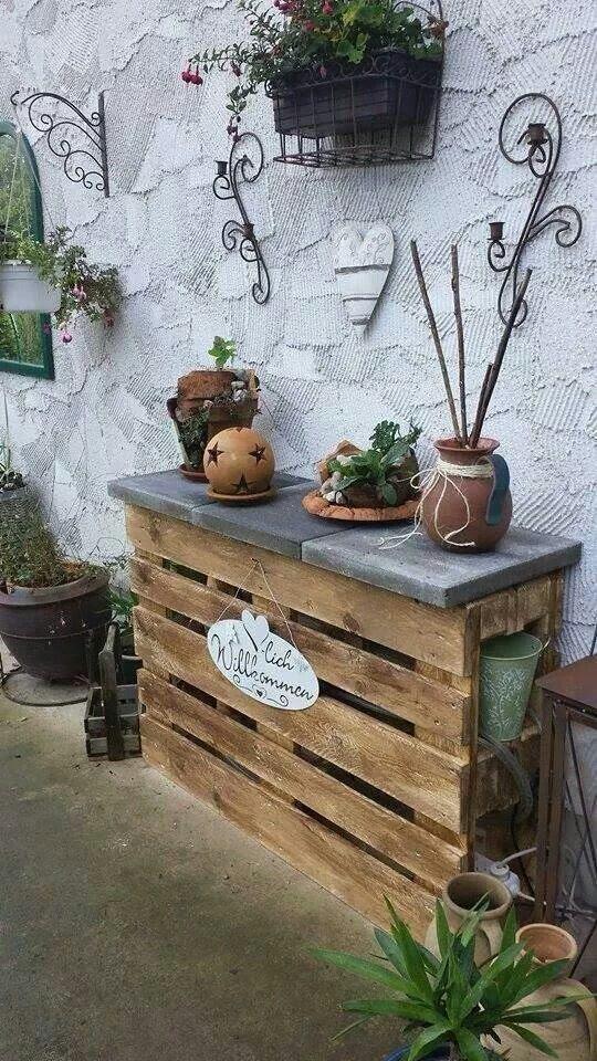 Garten Ideen Mit Paletten - Gartengeräte