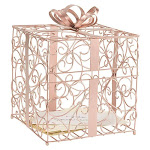 Cathys Concepts 1943RG Reception Gift Card Holder Rose Gold