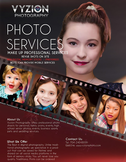 Vyzion Photography Servicing Lincolnton , Gastonia, Charlotte and Western NC