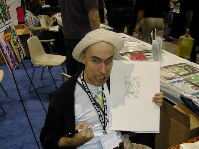 Seth at ComicCon 2004