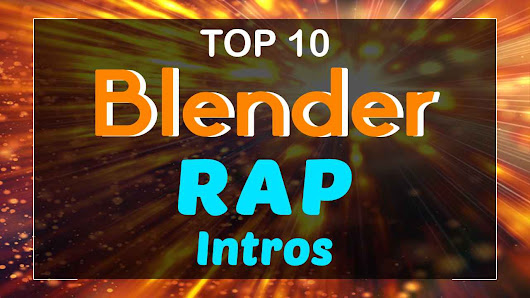 Top 10 Blender Rap Intro Templates 2017 - Free Download | topfreeintro.com