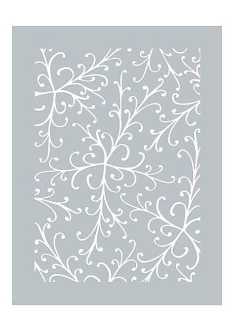 Pretty Flourish Stencil Dawn Bibby Collection DBST09