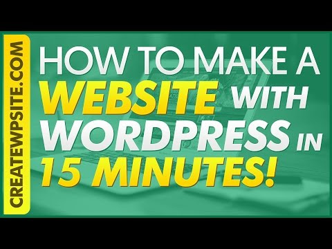 Waysto Make a Website with WordPress in 20 Minutes