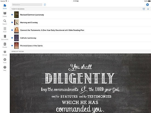 Free Verbum Catholic Bible Study App For iOS