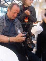 Steve and camera