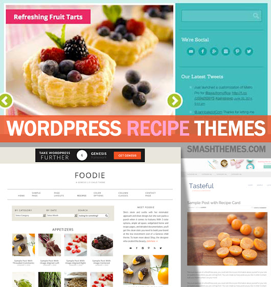 15+ Best WordPress Food & Recipe Themes 2014