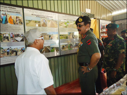 Indian Army commander meets occupying SL Army in Jaffna