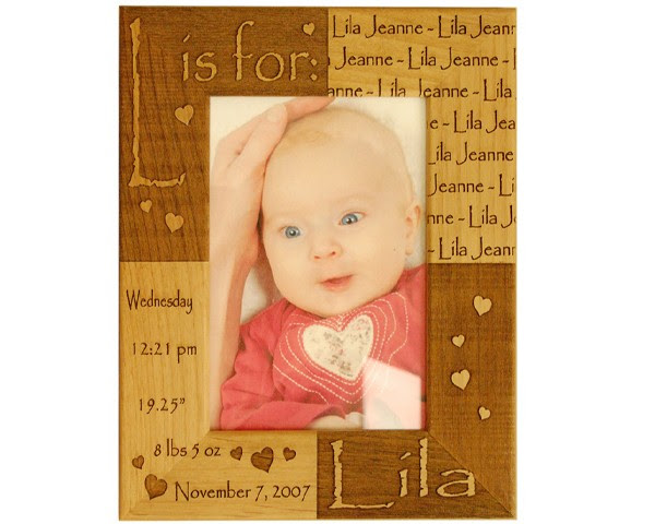 Birth Certificate Baby Frame Name Picture Frames