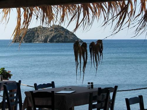 Typical greek-summer scene at Eresos