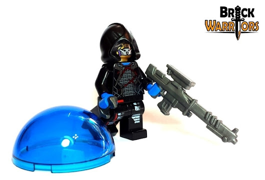 Custom LEGO Gun Highlight - Silent Death Sniper