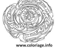 Coloriage Beyblade Burst Toupie Jecoloriecom