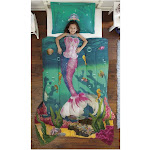 Dream Big Sea Princess Twin Comforter Set