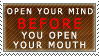 Open your Mind Stamp by quazo
