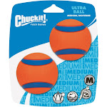 Chuckit! Ultra Ball for Dogs, Medium - 2 pack