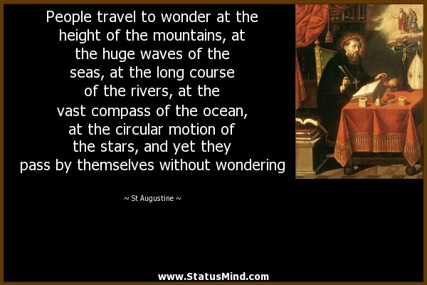 People Travel To Wonder At The Height Of The Statusmindcom