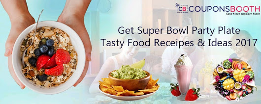 Get Super Bowl Party Plate / Tasty Food Recipes and Ideas 2017