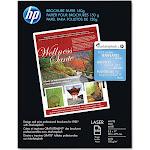 Hp Color Laser Brochure Paper 98 Brightness 40lb 8-1/2 x 11 White 150 Shts/Pk Q6543A