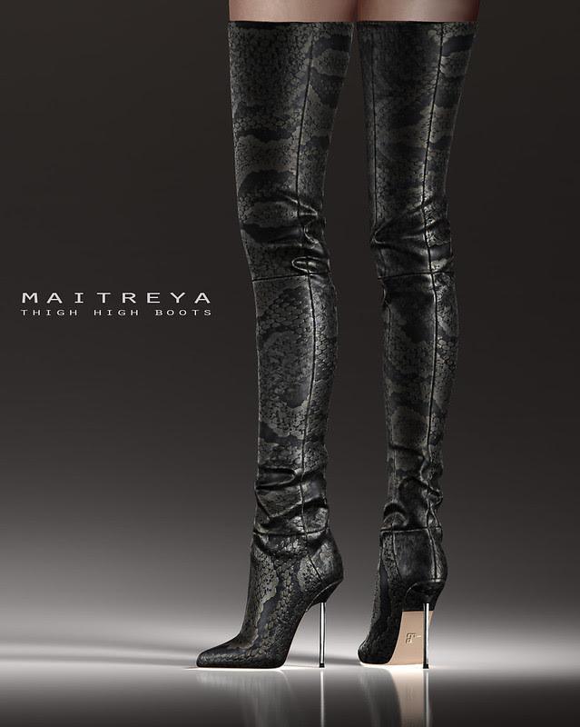 Maitreya Thigh High Boots