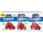 Ocean Spray Craisins Dried Cranberries - 6ct/6oz