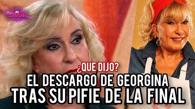 El DESCARGO de Georgina Barbarossa tras REVELAR QUE ES FINALISTA de #MasterChef Celebrity