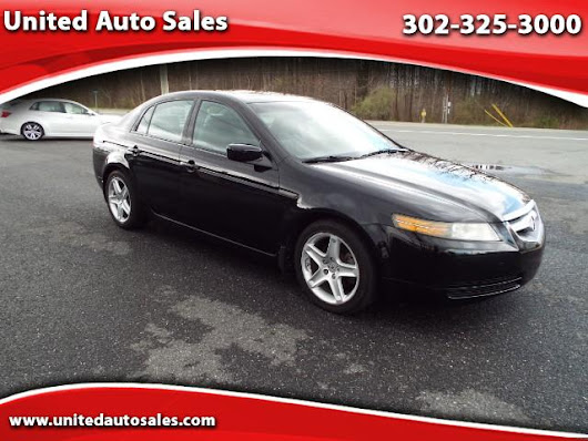 Used 2006 Acura TL 5-Speed AT for Sale in New Castle DE 19720 United Auto Sales
