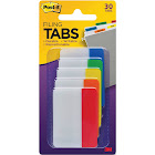 Post-it Filing Tabs, Assorted - 30 pack