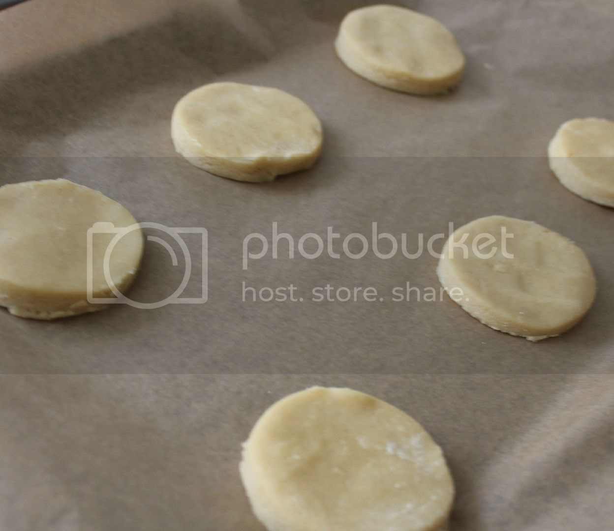baking shortbread