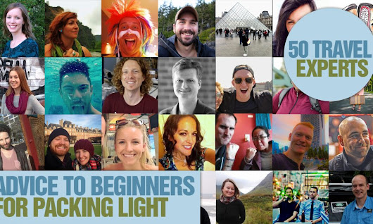 50 Travel Experts' Advice to Beginners for Packing Light | Packing Lite