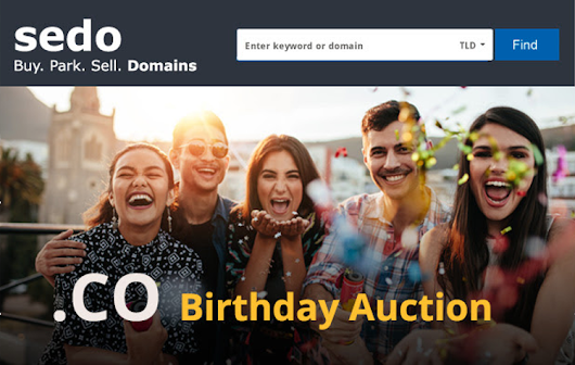 Sedo Dot Co Domain Name Auction Begins Today