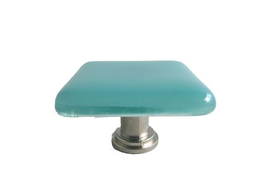 Decorative Fused Glass Cabinet Door Knobs - Contemporary - by BPR Designs