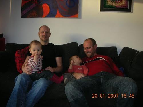 Eve and Stuart, Lola and me