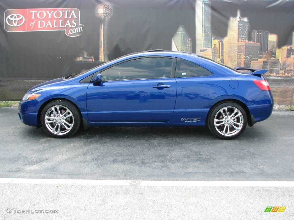 2006 Honda Civic Coupe Blue