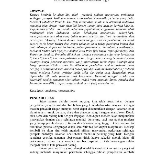 Contoh Abstrak Indonesia Dan Inggris