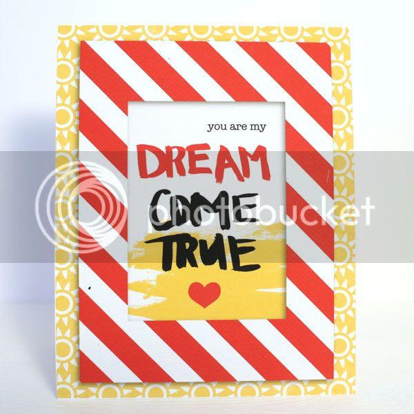 Dream Come True card