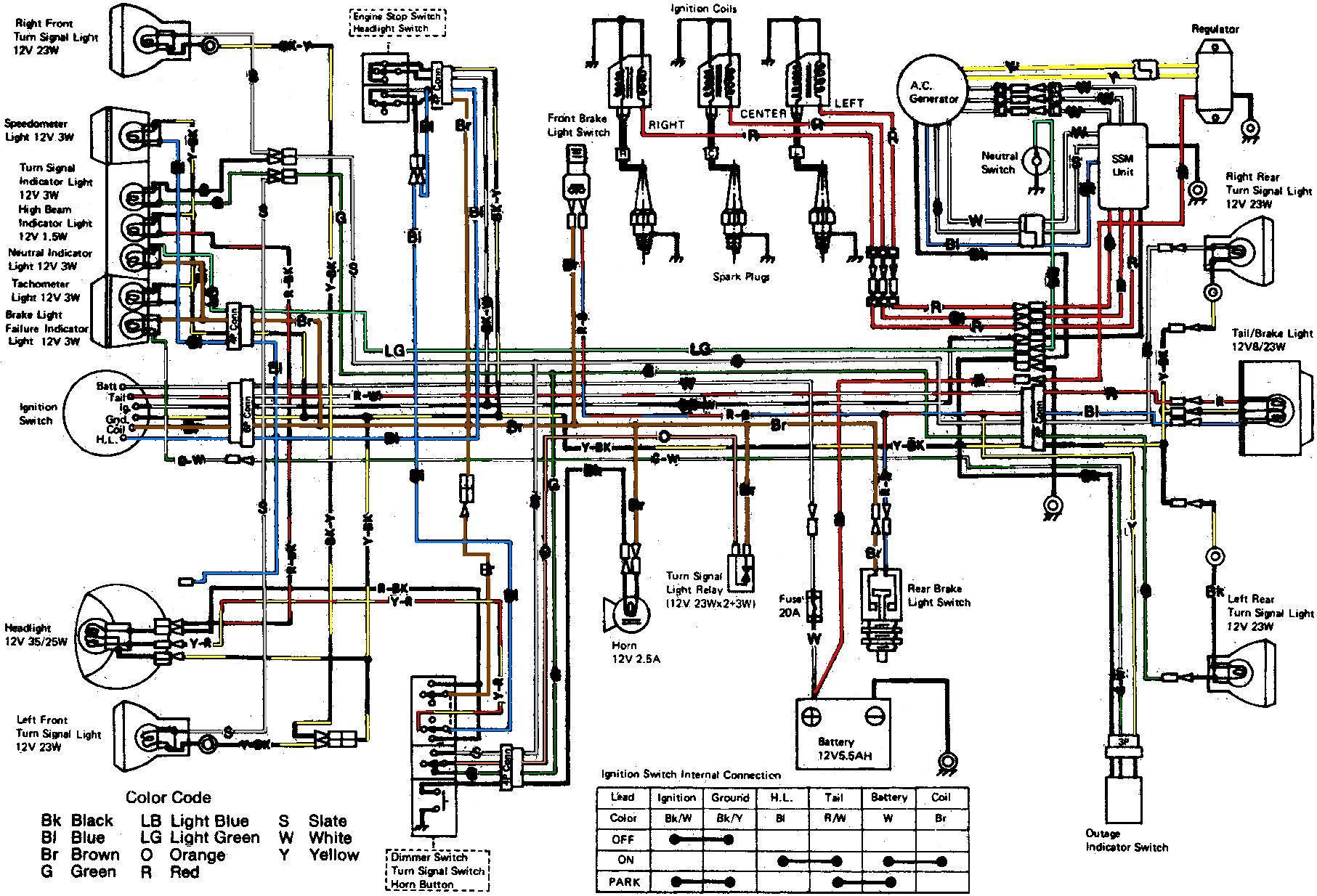 Kawasaki Wiring Diagrams For 1969 1972 H1 Triples Wiring Diagram Enter Enter Lechicchedimammavale It